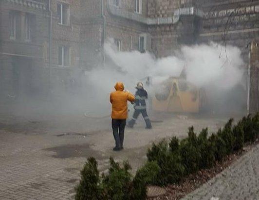 Вцентре столицы Украины произошел взрыв