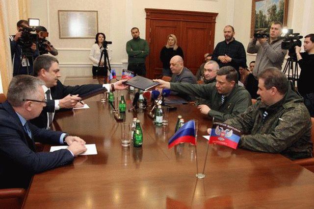 Захарченко сПасечником закончили «таможенную войну»— Пакт оненападении