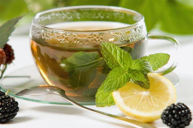 Мочегонный ли зеленый чай