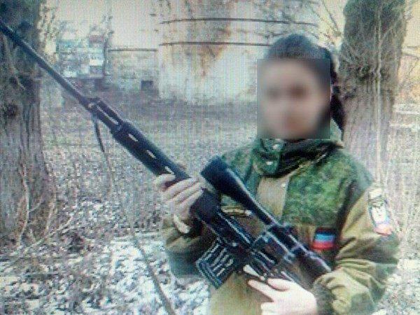 Девушка-боевик «ДНР» задержана вСлавянске