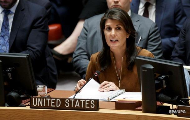 Хейли: США дадут ответ наприменение химоружия вСирии