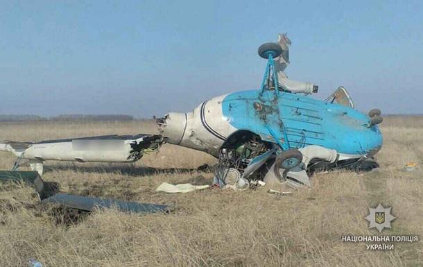 ВПолтавской области разбился вертолет
