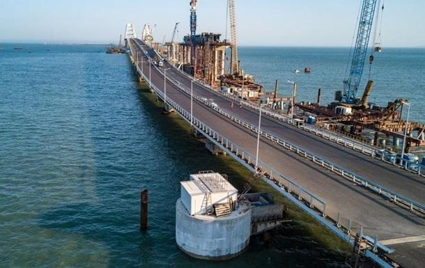 ВУкраинском государстве поведали опланах применения Крымского моста
