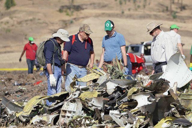 Авиакатастрофа в Эфиопии