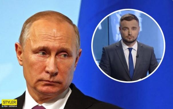 Ведущий украинского телеканала Овдиенко обматерил Путина, фото-1